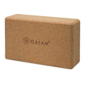 Gaiam корков йога блок