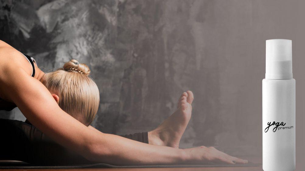 почистващ спрей за йога постелка